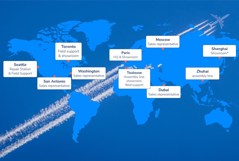 map services tablette